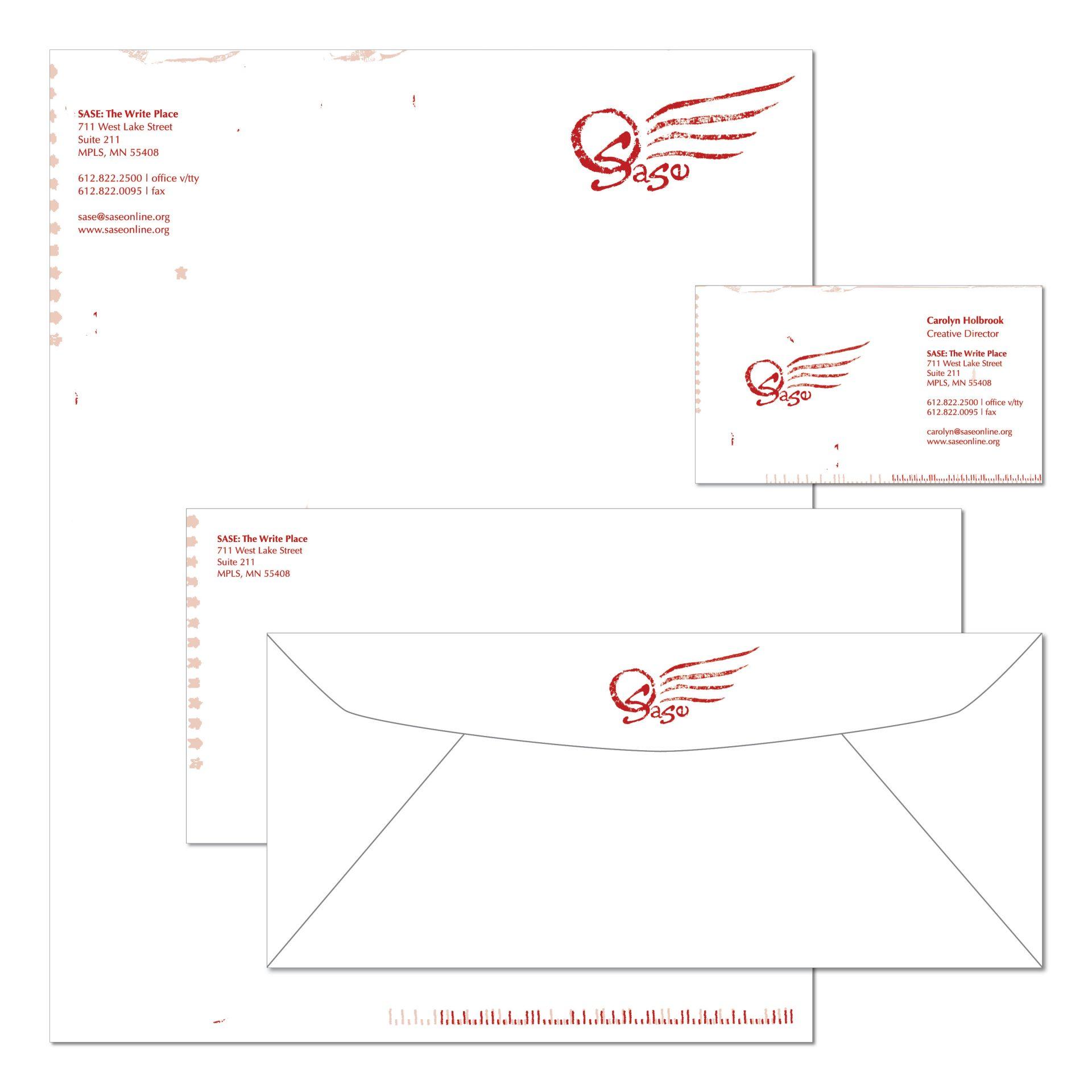 2002 | SASE | logo, business card, letterhead, envelope