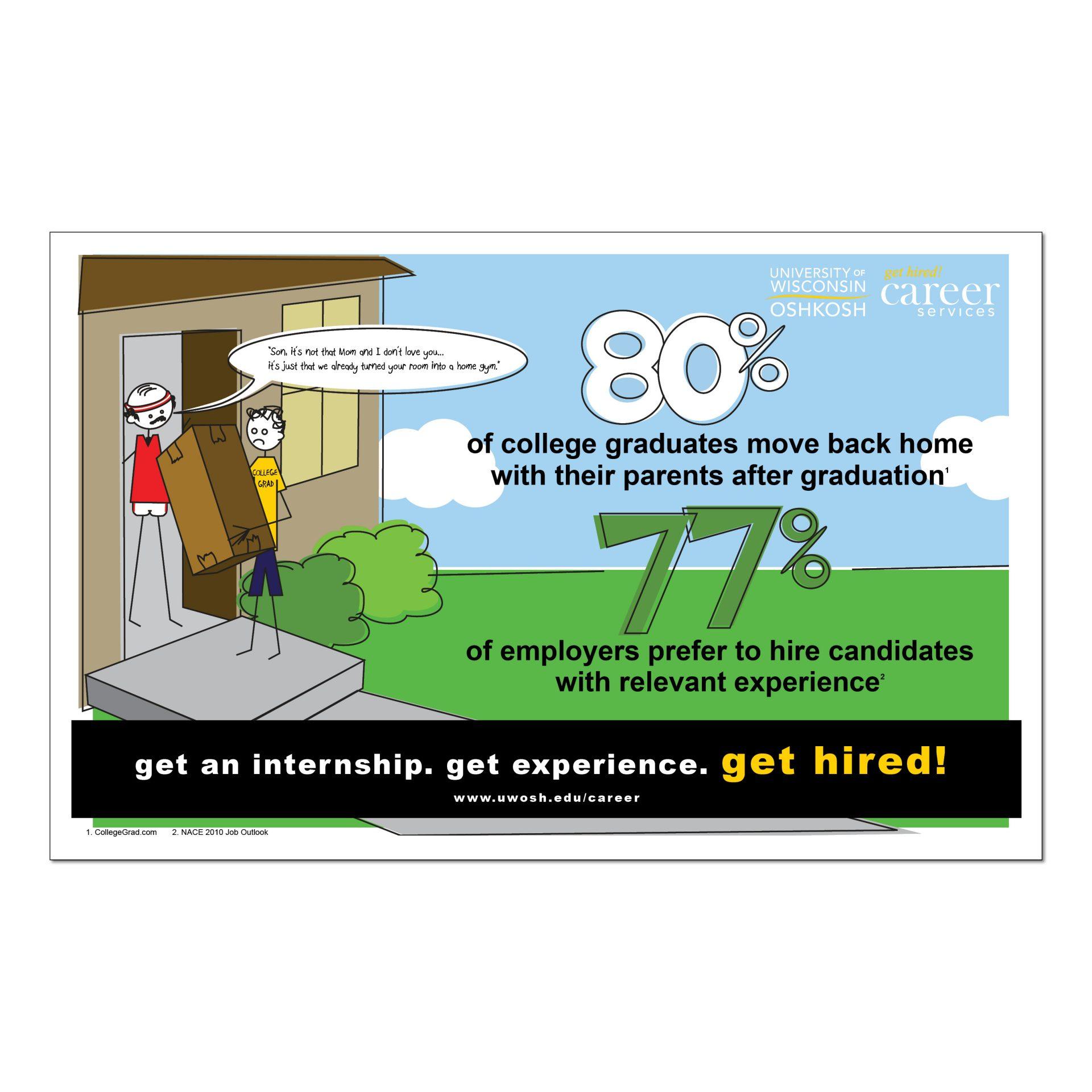 2011   UW Oshkosh Career Services   poster
