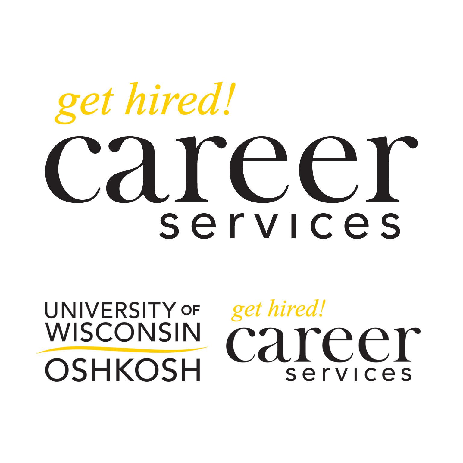 2010 | UW Oshkosh Career Services | logo (not UW Oshkosh portion)
